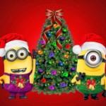 Imagenes de navidad con Los Minions
