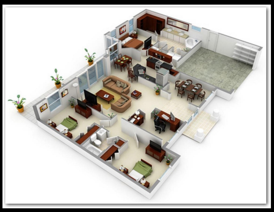 Imagenes de planos de viviendas2