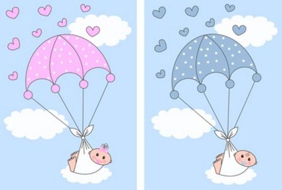 Imagenes de tarjetas de Baby Shower