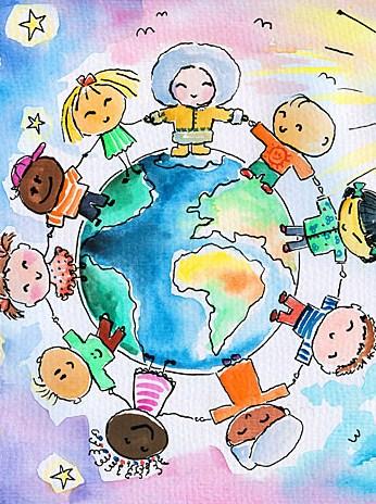 Imagenes del dia de la raza para niños