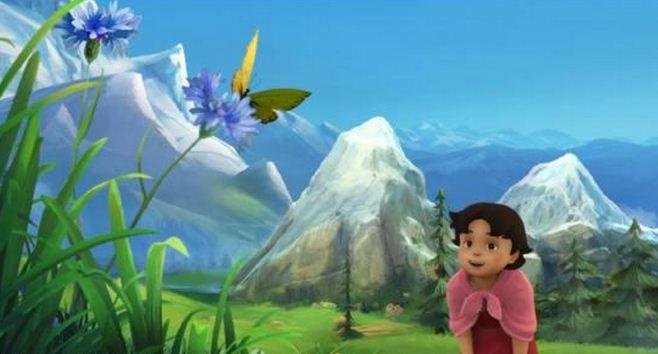 Imagenes del dibujo de Disney Heidi 2015