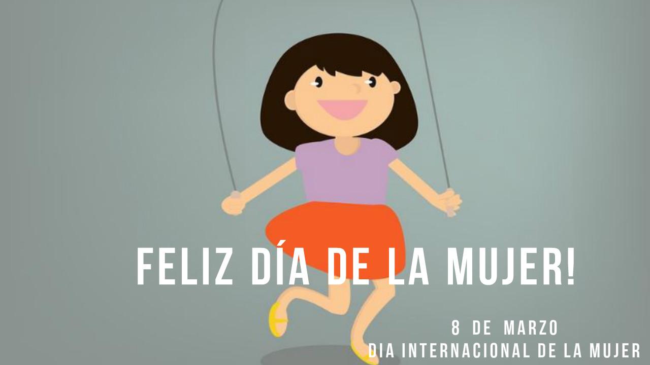 Imagenes dia de la mujer para niños
