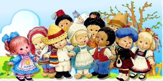 Imagenes dia de la raza para niños (2)