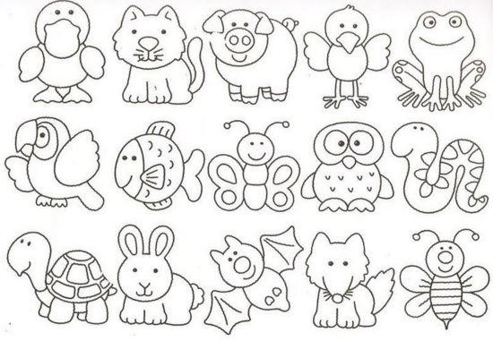Imagenes dia del animal para colorear bonitos