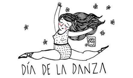 Imagenes dia internacional de la danza para colorear