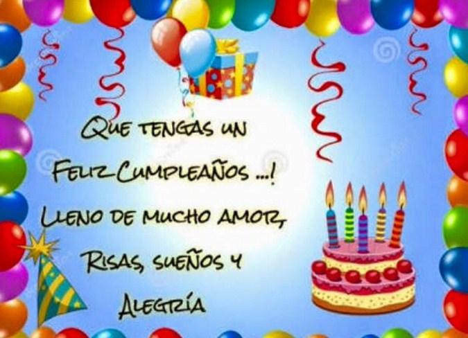 Imagenes feliz cumpleaños para facebook