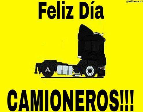 Imagenes feliz día del camionero