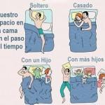 Imagenes graciosas de dormir con los hijos