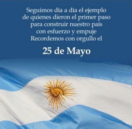 Imagenes para el 25 de mayo con frases