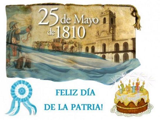 Imagenes para el 25 de mayo feliz dia de la patria