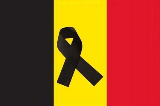 Luto en Belgica por los Atentados