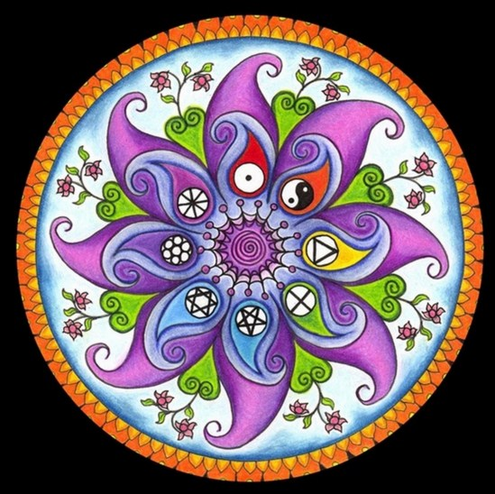 Mandalas lilas