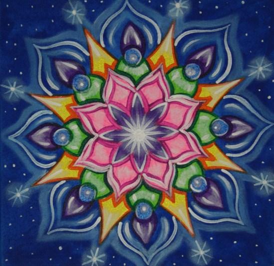 Mandalas lindas de colores