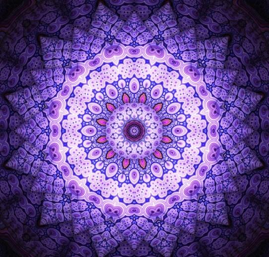 Mandalas violetas
