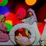 Postales con pesebres navideños