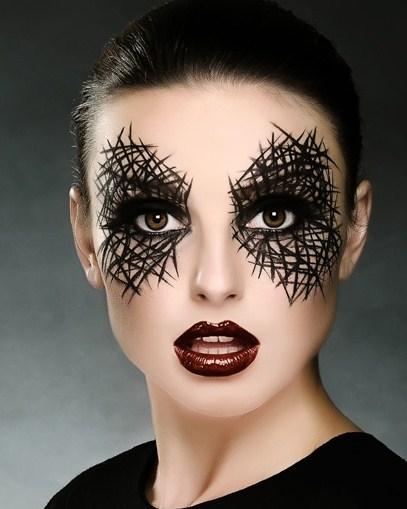 Maquillaje bonito para halloween
