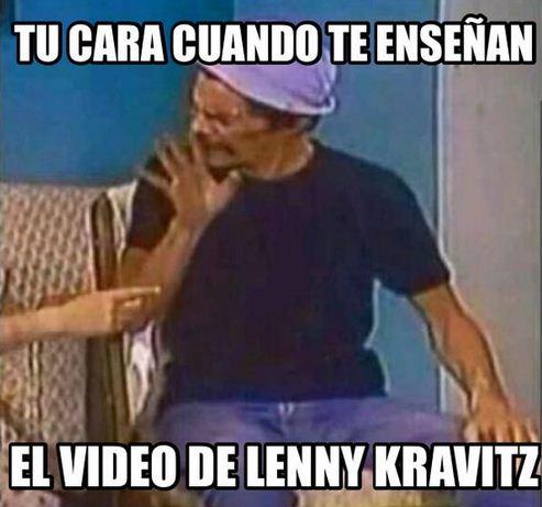 Memes graciosas de Lenny Kravitz 2015