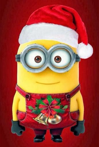 Minions para navidad