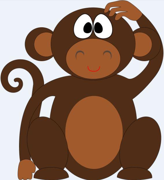Monos imagenes caricatura