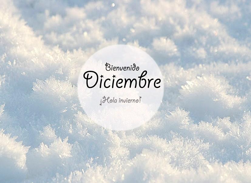 Postales bienvenido diciembre