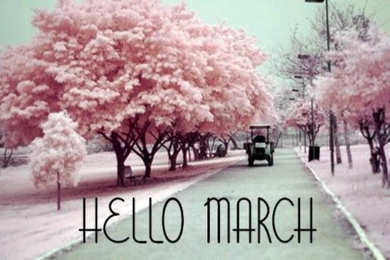 Postales con frases en ingles para marzo