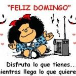 Postales para el domingo con Mafalda