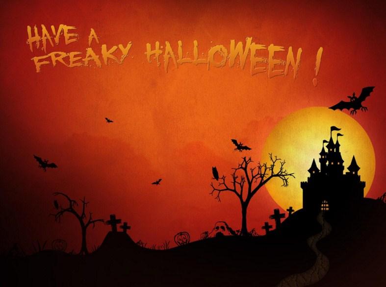 Postales para halloween que den miedo