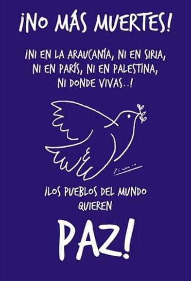 Postales para la paz en el mundo