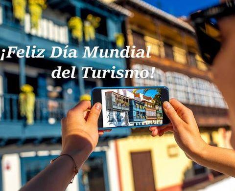 Tarjetas feliz dia mundial del turismo
