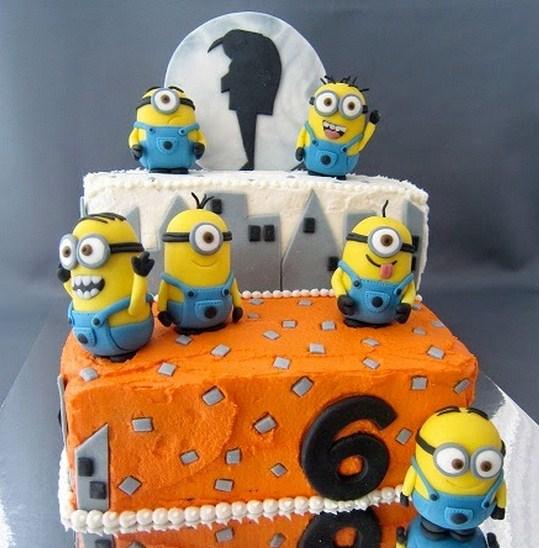 Tortas de Minions