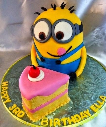 Tortas de cumpleaños Minions