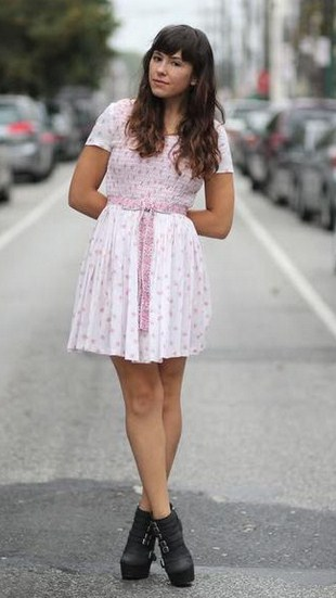 Vestidos cortos casuales 2015