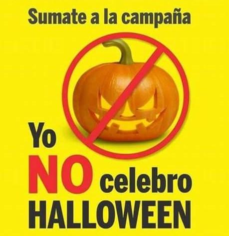 Yo no festejo Halloween