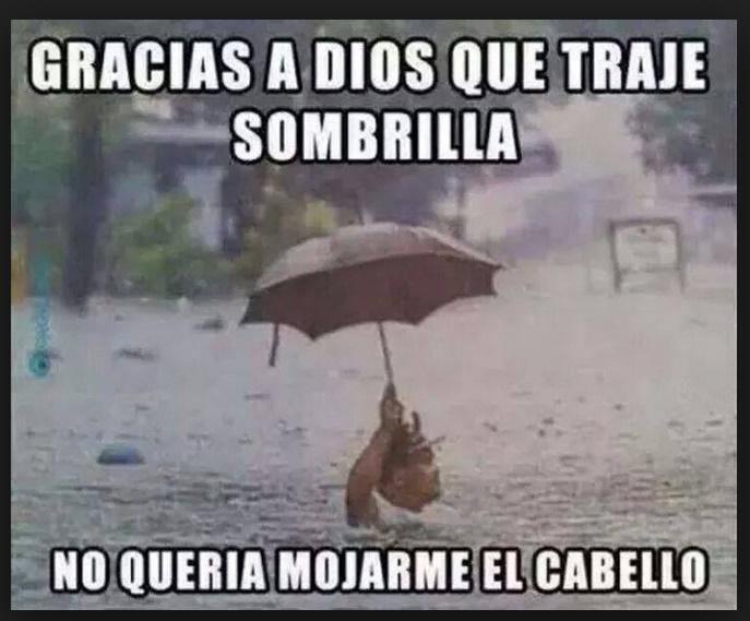 chistes sobre la lluvia