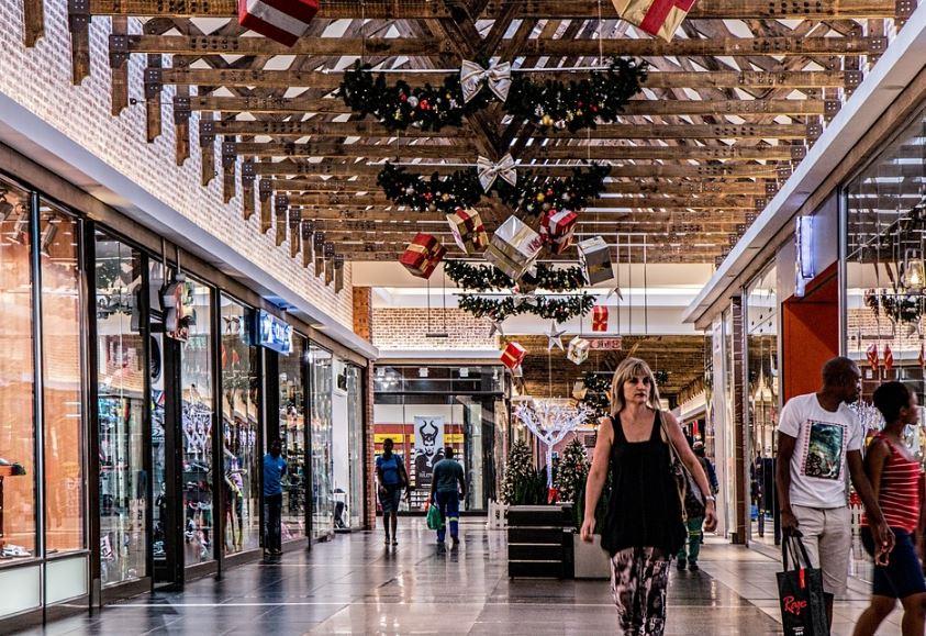 decoración navideña para negocios