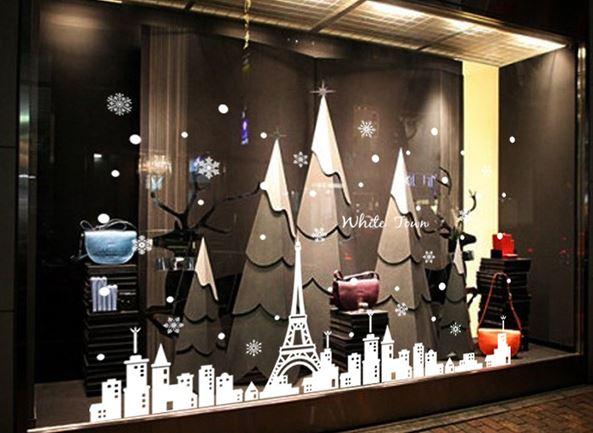 decorar locales comerciales para la navidad