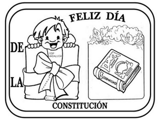 dia de la constitucion nacional argentina para colorear