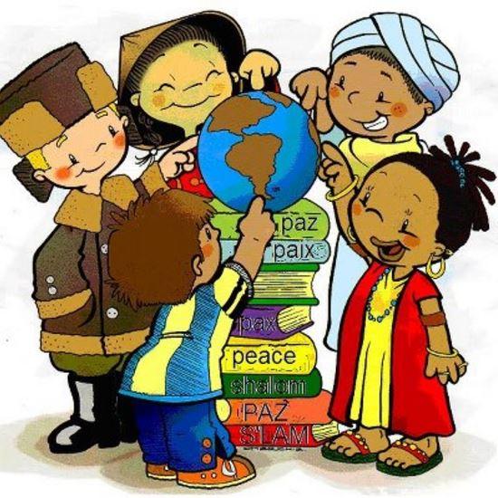 , dia de las americas para niños