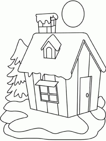 dibujos de casas infantiles