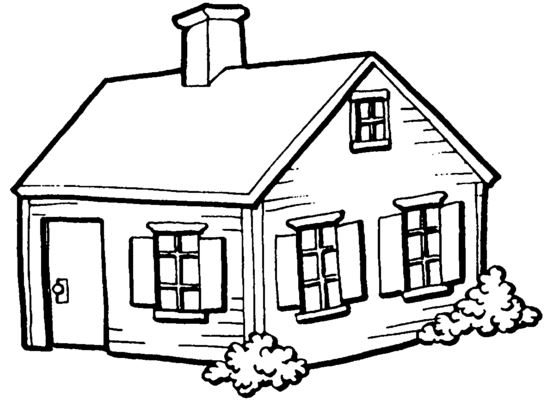 dibujos de casas para niño