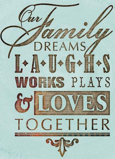 imagenes con frases de la familia en ingles