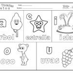 Imagenes de vocales para niños