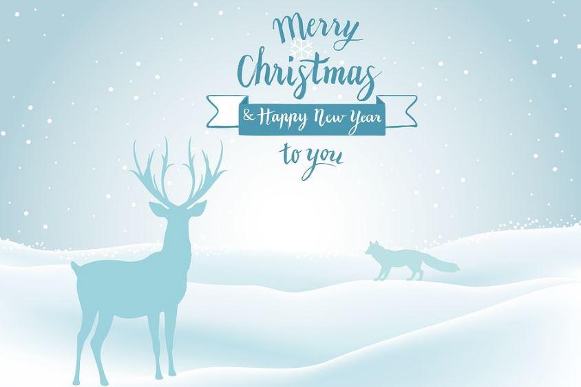 imagenes de feliz navidad y prospero año nuevo en ingles