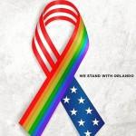 Imagenes de luto atentado en Orlando
