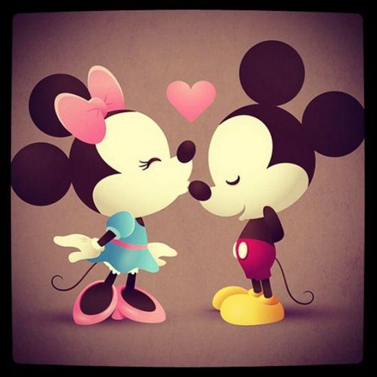 Imagenes De Miki Maus Y Mini De Amor