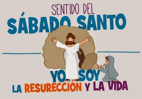 imagenes de sabado santo para niños