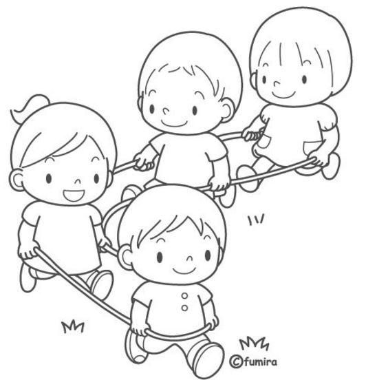 imagenes para colorear de niños