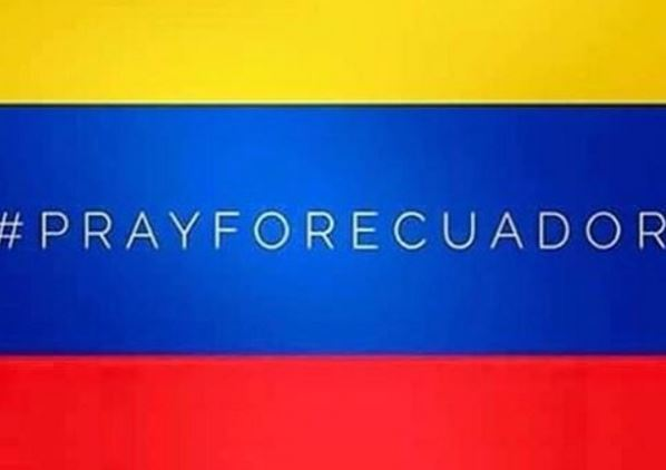 imagenes pray for ecuador