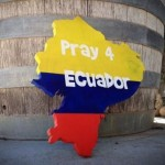 Imagenes de apoyo a Ecuador