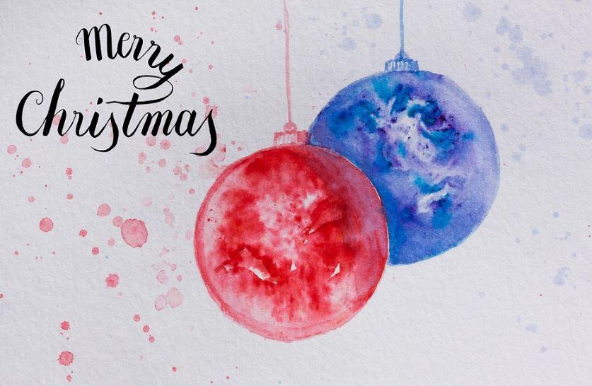 tarjetas navideñas en inglés